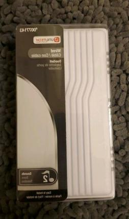 Utilitech #0077143 Wired Doorbell-2 Chimes-White Finish NEW