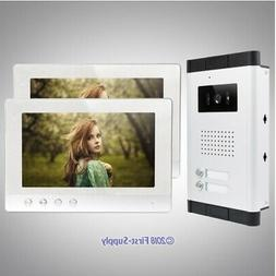 """10.1"""" Wired Video&Audio Smart Doorbell with Outdoor Monitori"""