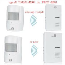 1000ft Driveway Alarm 1byone Motion Sensor Alert System Plug