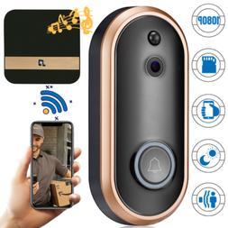 1080P HD WiFi Smart Doorbell Camera Wireless Chime Video Int