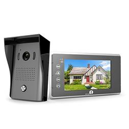 1byone Video Doorphone 2-Wires Video Intercom System 7-inch