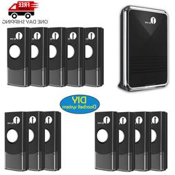 1byone Wire Free Doorbell Battery Chime Wireless 36 Melodies