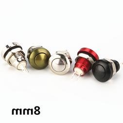 1pc 8mm momentary metal horn font b