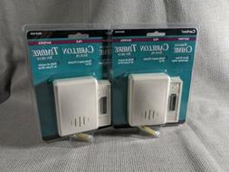 2 Pack Carlon RC 3105 Wireless Doorbell Chime Push Button