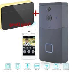 2 X Wireless WiFi DoorBell Smart Video Phone Door Visual Rin