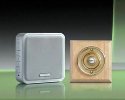 Honeywell 200m Wireless Recordable Doorbell kit, Wireless Pe