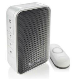 Honeywell 3 Series Plug-In Wireless Doorbell with Strobe Lig