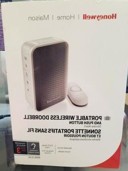 Honeywell 3 Series Portable Wireless Doorbell with Strobe Li