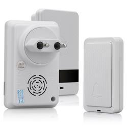 300m Self Powered Waterproof Wireless DoorBell no battery fo