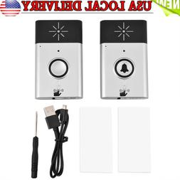 300m Wireless Voice Intercom Doorbells Two-way Talk Home Doo