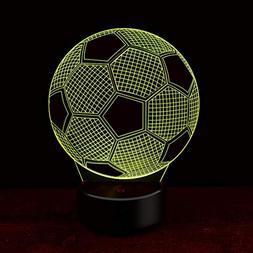 3D Optical Illusion Desk Lamp Unique Night Light Home Decor