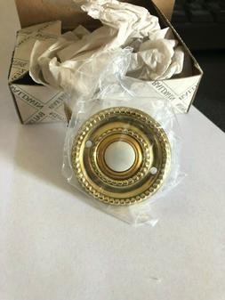 Baldwin 4850-030 Vintage Rope design brass door bell ringer
