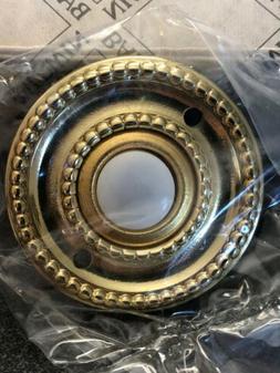 Baldwin 4850-030 Vintage Round Rope brass door bell ringer /