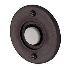 Baldwin 4851 Lighted Button Bell Button Door Bell; Venetian