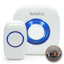 60-Chime Wireless Doorbell - Portable Plug-In Musical Door B