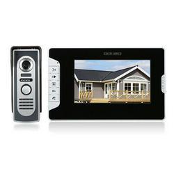 OWSOO 7 Inch Video Door Phone Doorbell Intercom Kit 1 Indoor