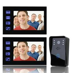 7 Inch Video Door Phone <font><b>Doorbell</b></font> Interco