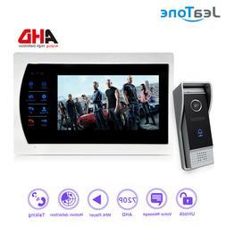 """JeaTone 7""""LCD Video Door Phone Doorbell Home Intercom System"""