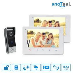 7'' TFT Video Door Phone Doorbell Video Camera 1200TVL inter