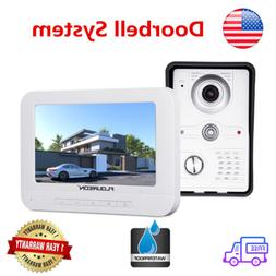"""7""""Wired TFT LCD Video Screen with IR LED Night Vision Camera"""
