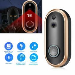 720P/1080p WiFi Smart Video DoorBell Camera Chime Wireless P