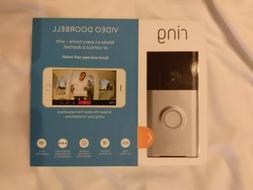 Ring 720p Wi-Fi Video Doorbell  UNOPENED BOX-NEW!