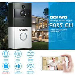 OWSOO 720P WiFi Doorbell Video Door Phone 2-Way APP Monitor
