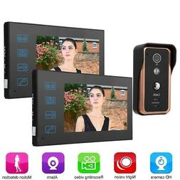 7in IR Wired  Doorbell Video Intercom Door Phone Camera Nigh