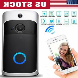 Wireless WiFi Smart DoorBell IR Video Visual Camera Intercom