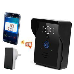 Magicfly Wifi Digital Video Doorbell wireless with an Indoor