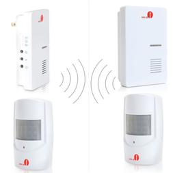 Wireless Doorbell 36 Chimes Driveway Alarm System Infrared M
