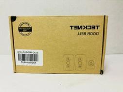 Wireless Doorbell TeckNet Remote Door Bell Chime Kit with LE