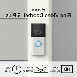All-New Ring Video Doorbell 3 Plus – Enhanced Wifi, Improv