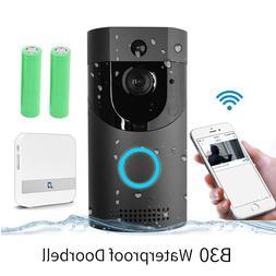 Anytek B30 WIFI <font><b>Doorbell</b></font> B30 IP65 waterp