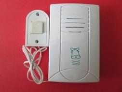BATTERY OPERATED MASTER  DOOR BELL FOR HOME OR OFFICE. WHITE