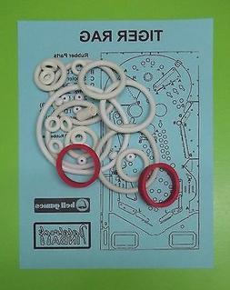 Bell Games Tiger Rag pinball rubber ring kit