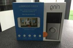 Ring Bot Home Automation 53-023188 Video Doorbell with Alexa