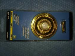 brand new lighted solid brass doorbell pushbutton