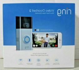 BRAND NEW Ring Video Doorbell 2 Wi-Fi Ring 2 Wire-Free  *2-D