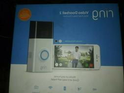 BRAND NEW! Ring Video Doorbell 2 Wire-Free Video Doorbell wi