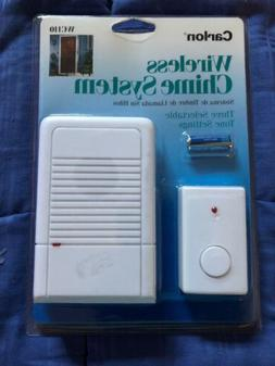 Brand New Carlon WC110 Wireless Battery Door Bell Chime Syst