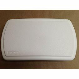 Broan White Plastic Doorbell, Chime Cover Only Home Tool Imp