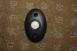 Bronze doorbell button decorator Baldwin Emtek Nutone doorbe