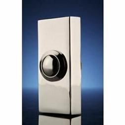 Byron Surface Doorbell Push - Chrome