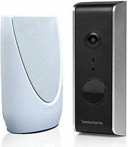 Byron WiFi Video Doorbell and Portable Chime Kit