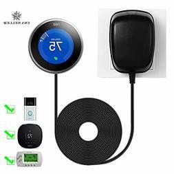 C wire adapter 24 Volt Transformer for Ring Doorbell Nest Ho