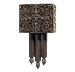 Craftmade CA3-RC Carved Short Chime