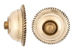 Cast brass Rope electrical doorbell push button