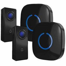 CROSSPOINT Expandable Wireless Doorbell Alert System, Multi-