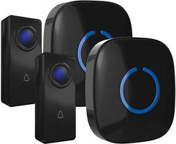 CROSSPOINT Expandable Wireless Doorbell Alert System, Multi-